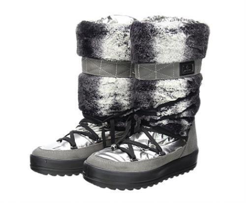 Jog Dog Kitzbuhel Faux Fur Waterproof Quilted Winter Boots Ladies Boots Sz 39
