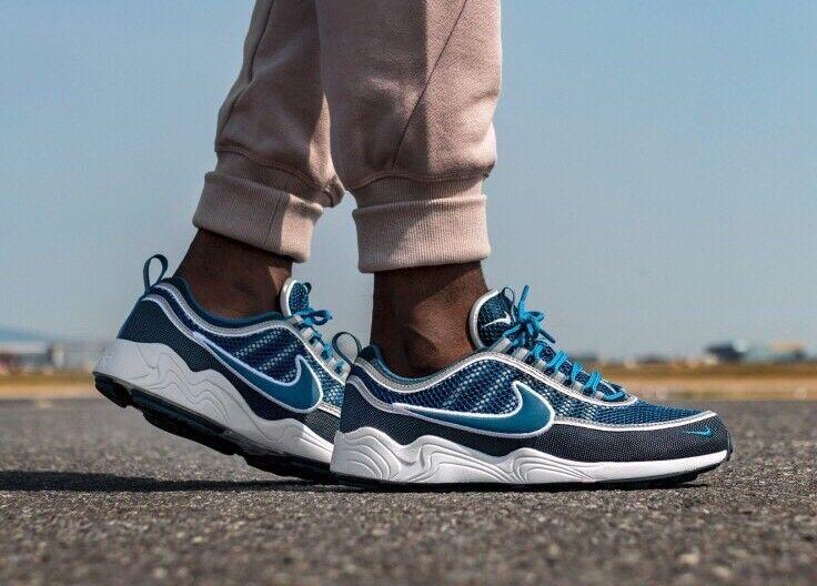 Nike Air Zoom Spiridon'16 Manège Militaire Bleu Marine Taille UK 9.5 EUR 44.5 926955-400-