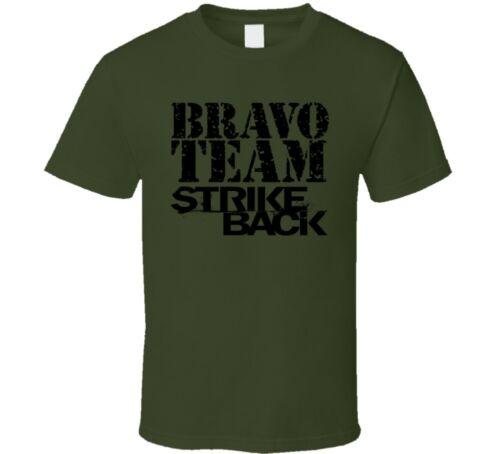 Strike Back Bravo Team Scott Stonebridge Distressed T Shirt