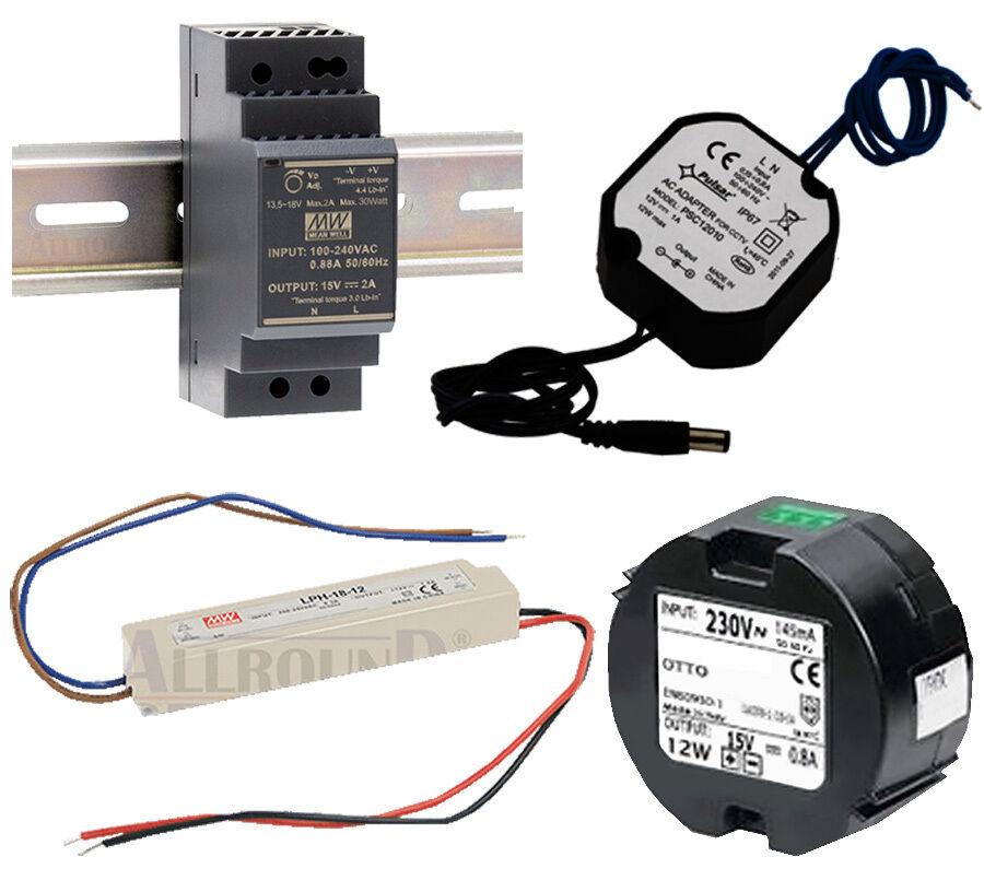 Netzteil für Video Türsprechanlage 230V auf 15v   12v DC Stromversorgung