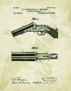 Duck Hunting Patent Art Print Motivational Posters Vintage Decoys Calls PAT456