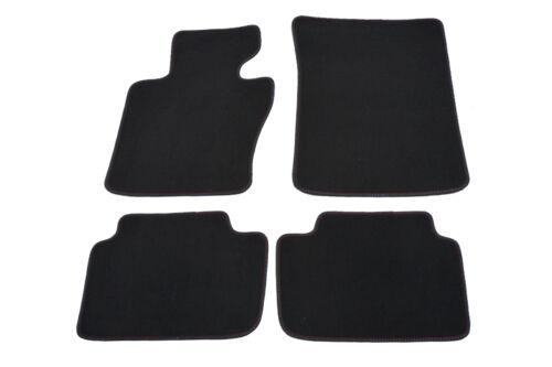 Fußmatten für BMW X3 E83 Bj.2003-2010 Autoteppiche 4x Antrazit Auto Matten