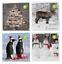 Noël Serviettes en papier Cocktail pour découpage photo Serviettes 33x 33 cm lot UK