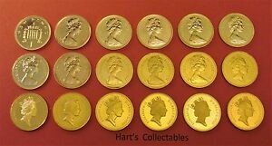 STUNNING PROOF ONE PENCE (1p) 1971 - 1993 COINS ALL COINS ARE  FROM PROOF SETS