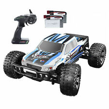 4WD RC Cars 1:10 High Speed 48+ kmh 2.4GHz Off Road Truck Toys 2 Battery 40 Mins
