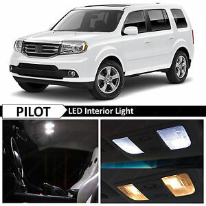 Image Is Loading White Interior Map Dome Door Trunk LED Light
