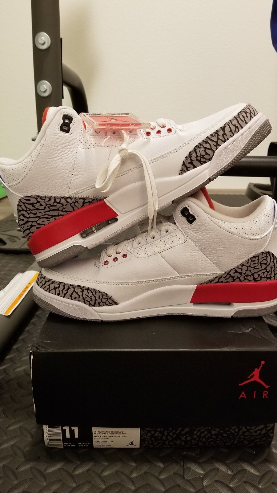Nike air jordan 3 retro (2018) (2018) katrina (2018) retro retro hall of fame ... 751cc0