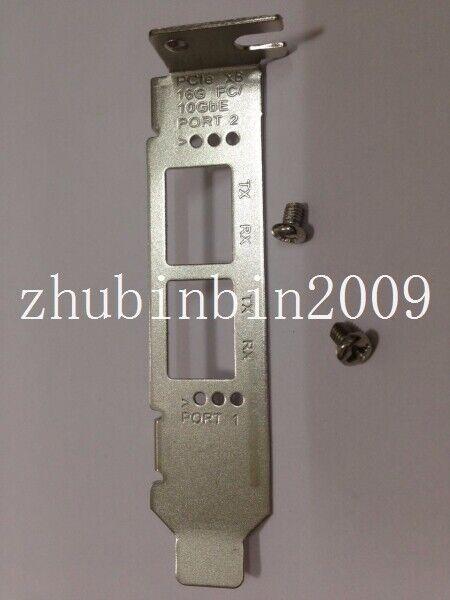 5 PCs Low Profile Bracket for Qlogic QLE2672 QLE2662 QLE2692 16GB FC Dual Port