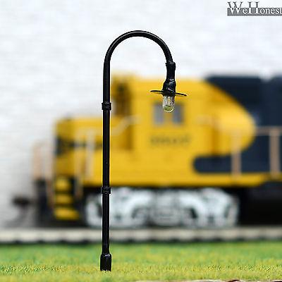 On Sale 5 x OO / HO scale Model train Lamp posts 12V street light Lamps #B005HO