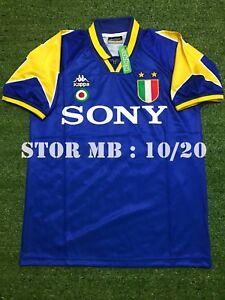 new styles 3de73 27761 Details about JUVENTUS 1995-1996 UEFA Champions League Retro shirt ( Size S  M L XL )
