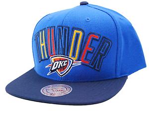 OKC-Oklahoma-City-Thunder-Mitchell-amp-Ness-VE32Z-NBA-Basketball-Snapback-Cap-Hat