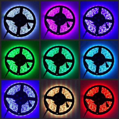 5M 16Ft 300LED RGB Waterproof 12V LED Neon Light Strip Kit For  CART ATV UTV