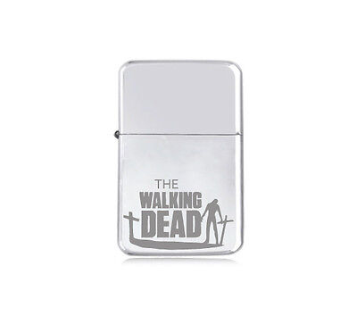 ★STAR★ engraved LIGHTER HORROR silver black pink gold WALKING DEAD Zombie Land