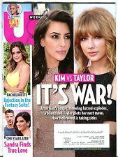 Us Weekly Magazine August 1 2016 Kim Kardashian EX w/ML 093016jhe