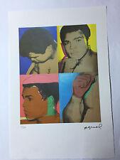 Andy Warhol Litografia 57 x 38 Arches France Timbro Secco Galleria Arte A073