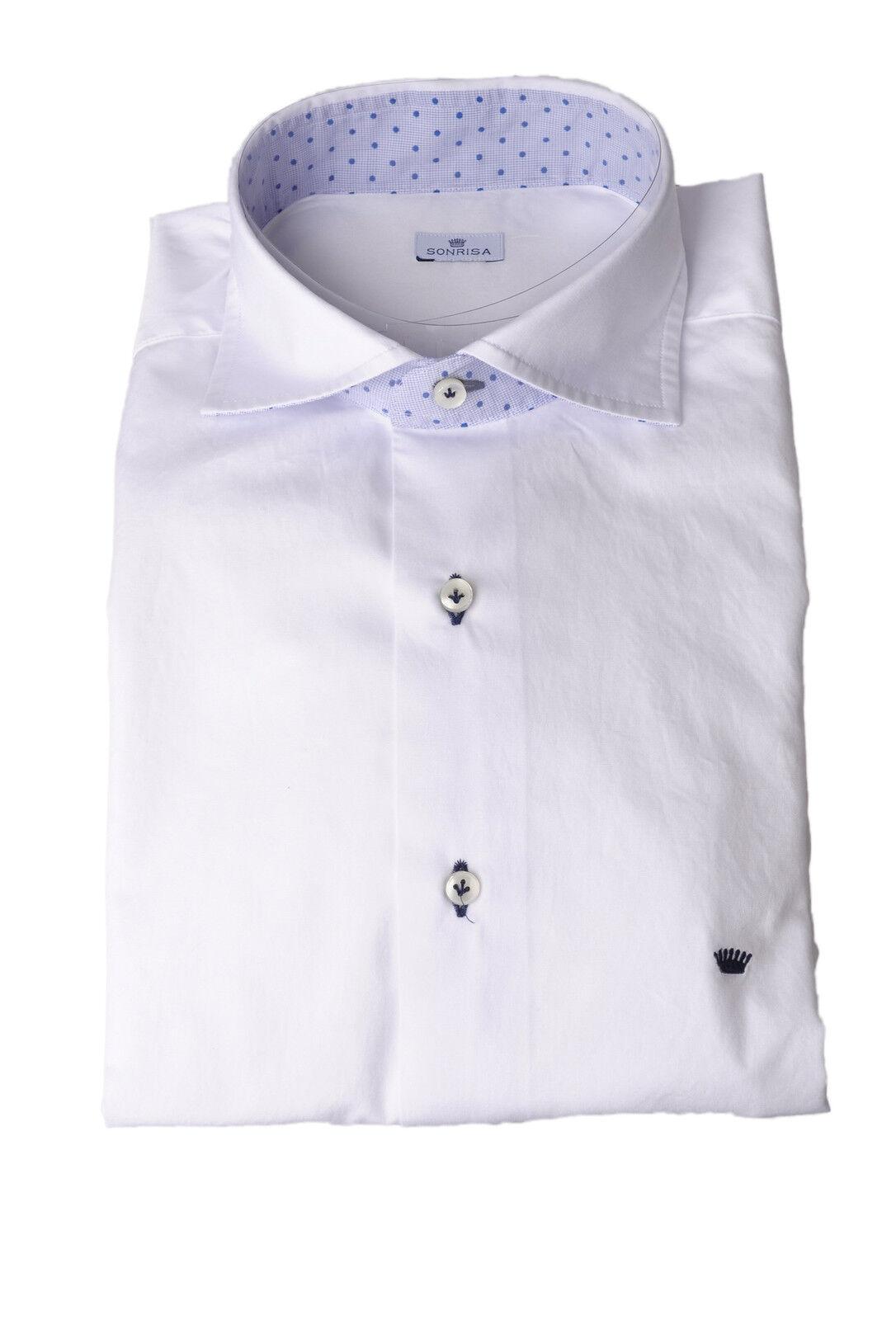 Sonrisa - T-shirts-Hemden-hals-frankreich - mann - Blau - 278908N184853