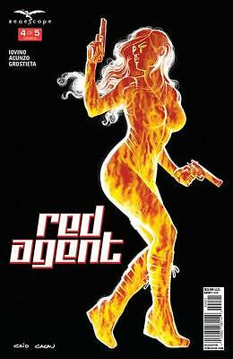 Cover B Red Agent 4 Grimm Fairy Tales