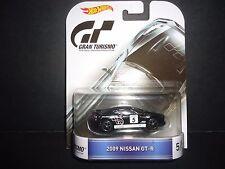 Hot Wheels Nissan GT-R R35 2009 Black Gran Turismo 1/64 DMC55-959C