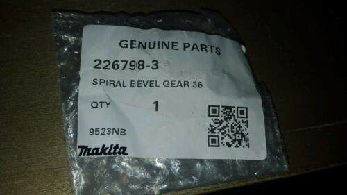 MAKITA 226798-3 SPIRAL BEVEL GEAR 36 FOR ANGLE GRINDER NEWW