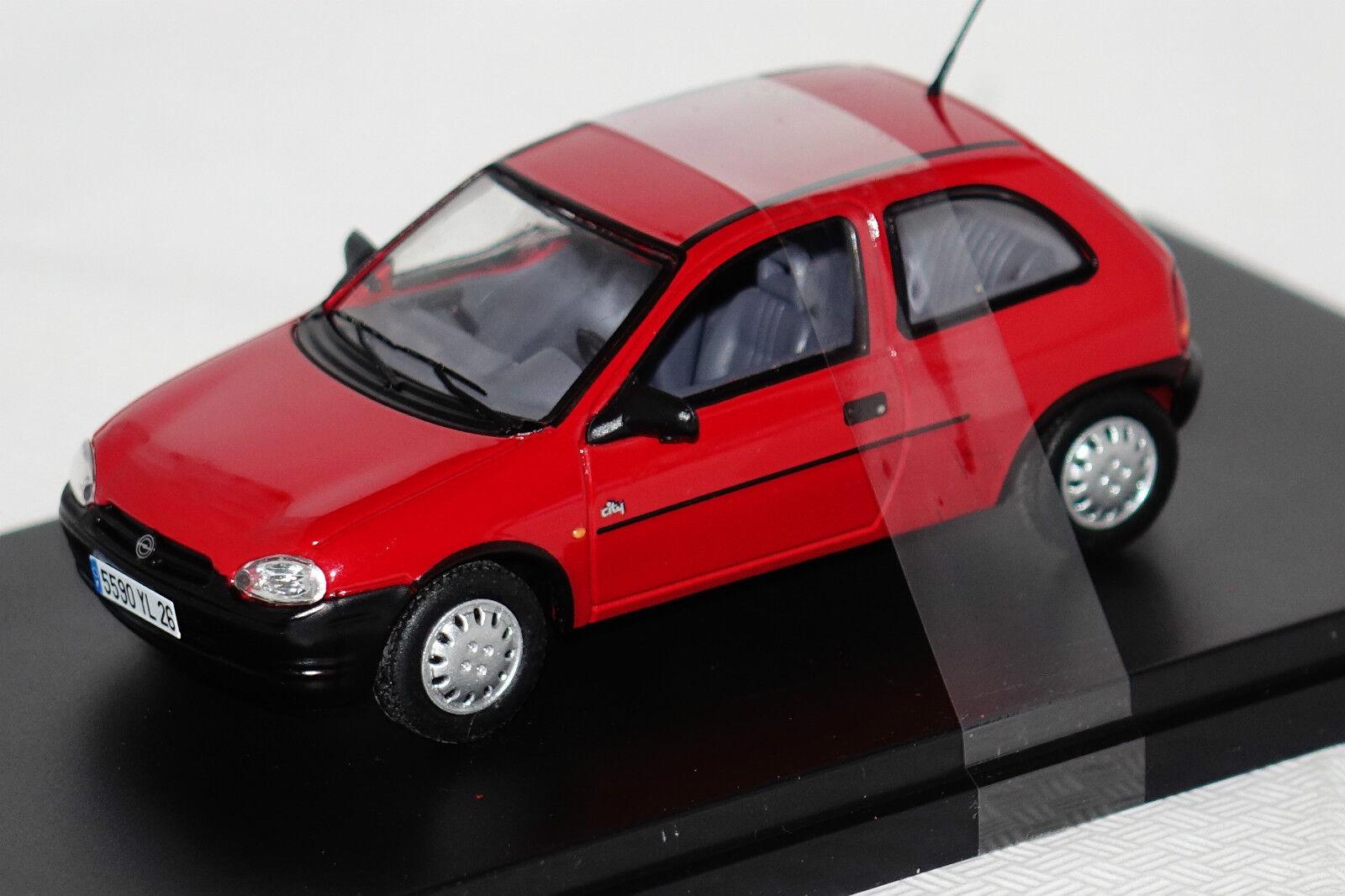 Opel Corsa B 1994 red 1 43 PremiumX  neu & OVP PRD427