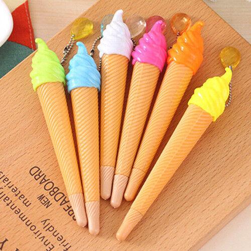 Eiscreme nettes Kugelschreiber Studenten Büro Briefpapier Tintenroller Geschenk