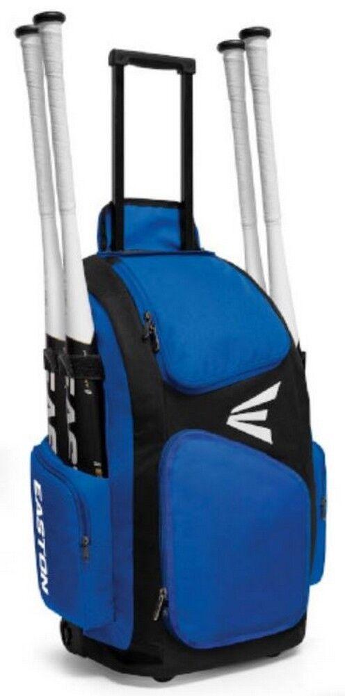 Easton Traveler Baseball Stand Up Wheeled Equipment Bag color Choice A159901