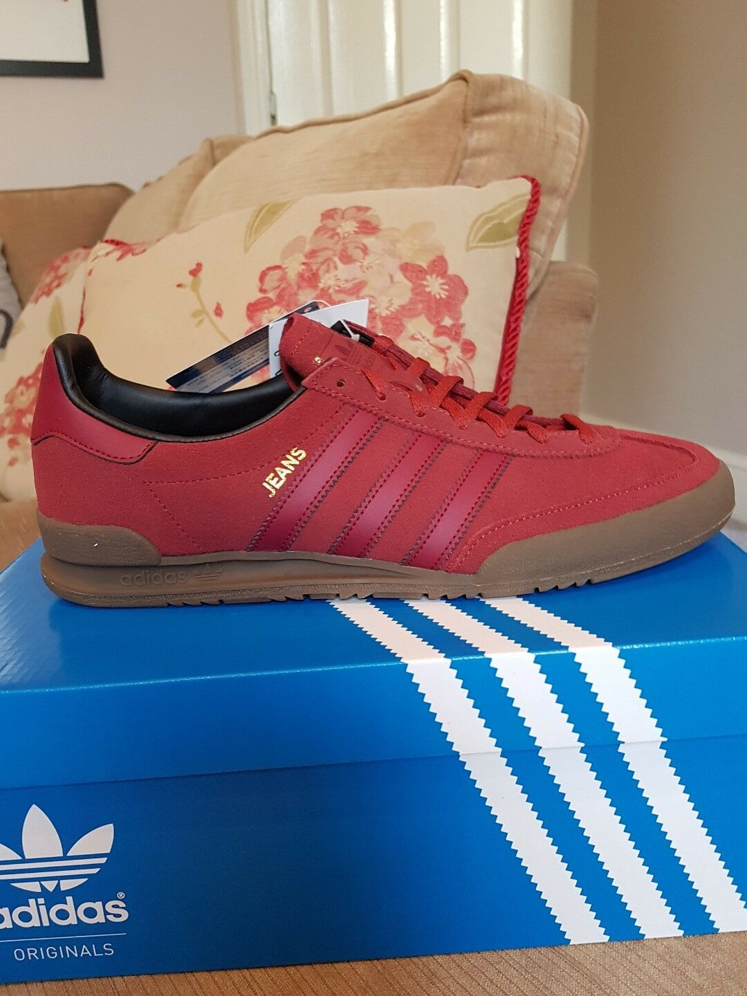 Adidas Original Jeans Baskets Taille 11 UK
