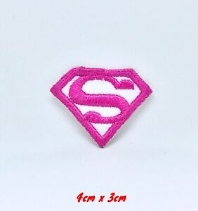 Superwoman-Rose-Bd-Personnage-Dc-Comics-Brode-Repasser-Patch-a-Coudre-351