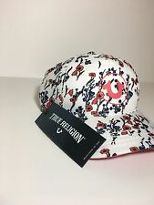 True Religion Jeans Hat Flower Blossom Men's One Size TR2068 MSRP=$80