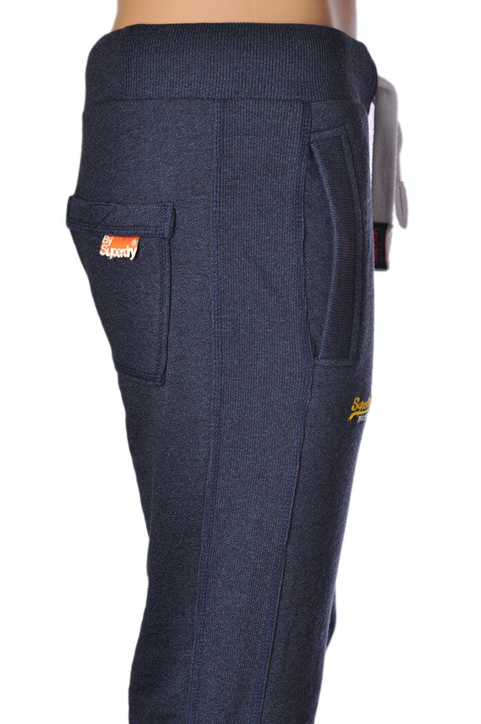 Superdry  -  Pants - male - bluee - 301027A183919