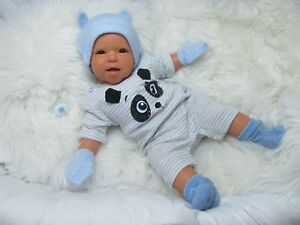 Ninisingen Reborn Reallife Poupée Konsti Juan Baby Doll Baby Artist Doll
