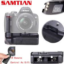 Nikon D3000 D40 D40X D60 D5000 Pro Battery Grip DSLR Cameras + IR ML-L3