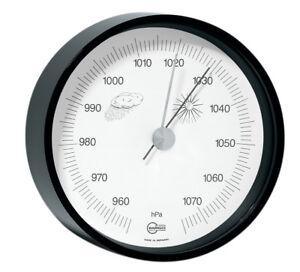 Barometer Analog Barigo Home Schwarz Stellen / Hängen