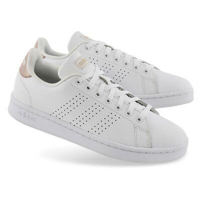 Chaussures Advantage ADIDAS Femme Fille Basket Faible Blanc Faux Mode Tennis   eBay