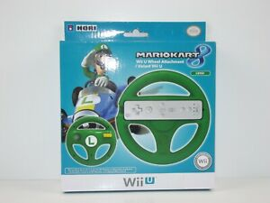 HORI-Mario-Kart-8-Racing-Wheel-Luigi-for-Nintendo-Wii-U-and-Wii-NEW