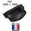 Couvercle-cache-Batterie-noir-SONY-PSP-2000-2004-3000-3004-SLIM-NEUF-pile miniatura 2