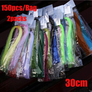 Tackle Holographic Tinsel Flash Lure Making Material Fly Tying Materials
