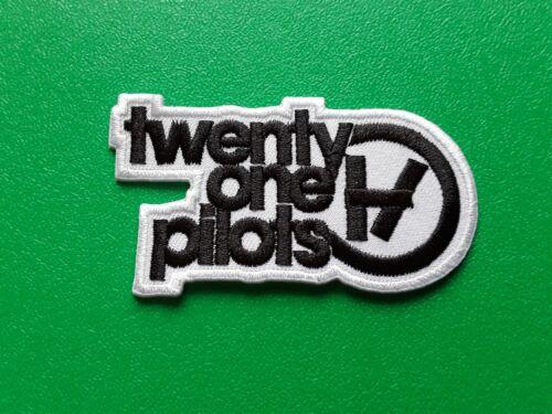 TWENTY ONE PILOTS PUNK ROCK HEAVY METAL MUSIC SEW IRON ON PATCH: