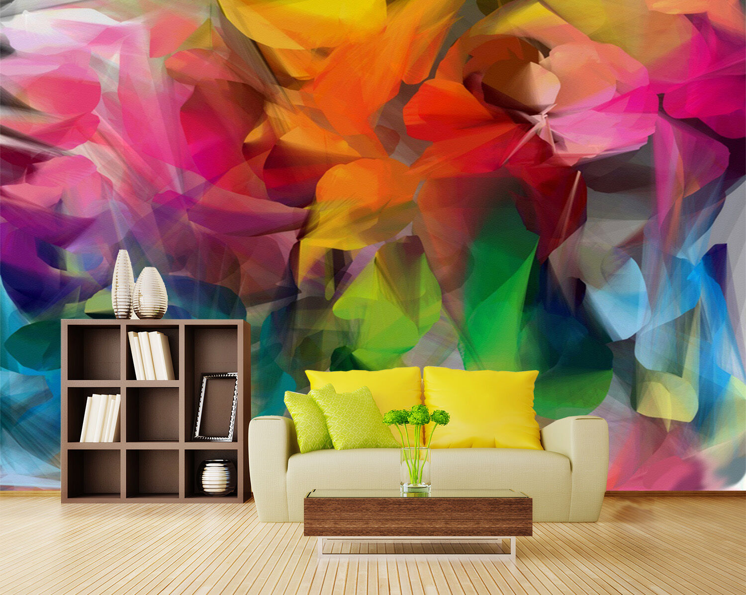 3D Various Bright Farbes 722 Paper Wall Print Wall Decal Wall Deco Indoor Murals