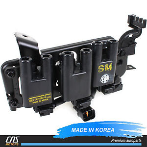 s l300 denso ignition coil fits 01 09 santa fe tiburon tucson 2 7l oem  at eliteediting.co