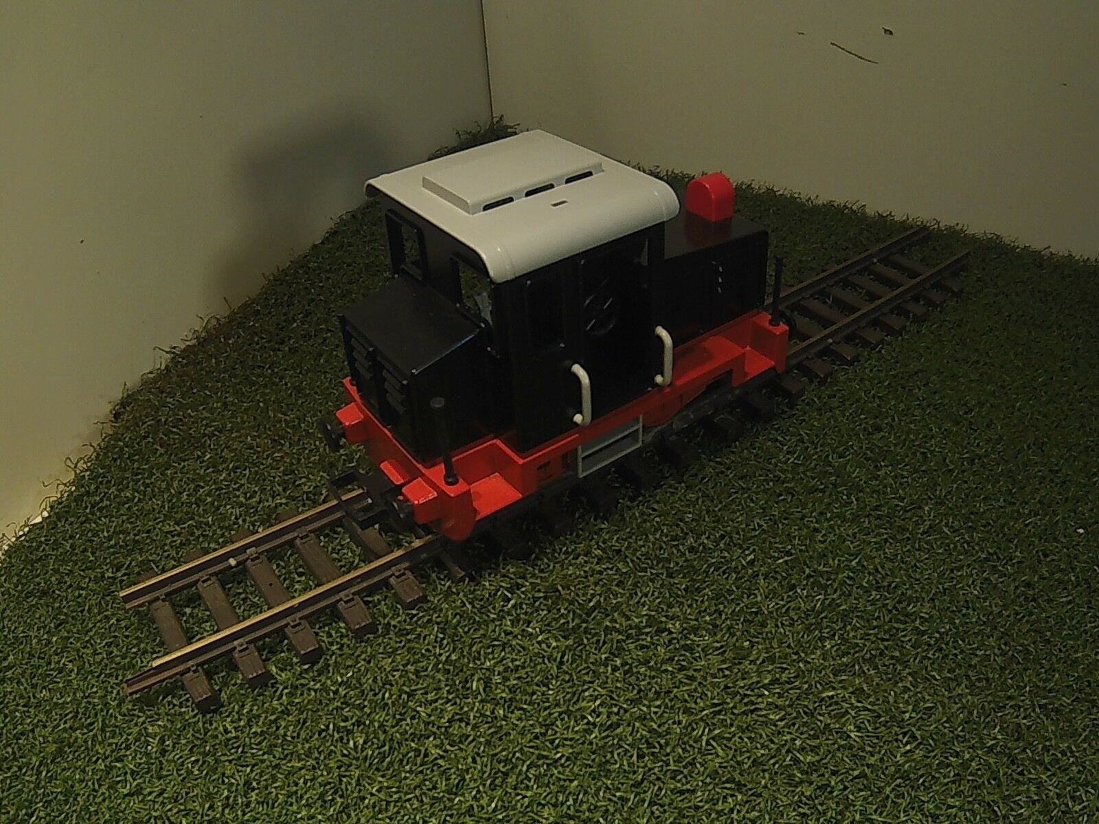 PLAYMOBIL Trasformatore ferroviario piccole Oldtimer DIESEL nel look DRG
