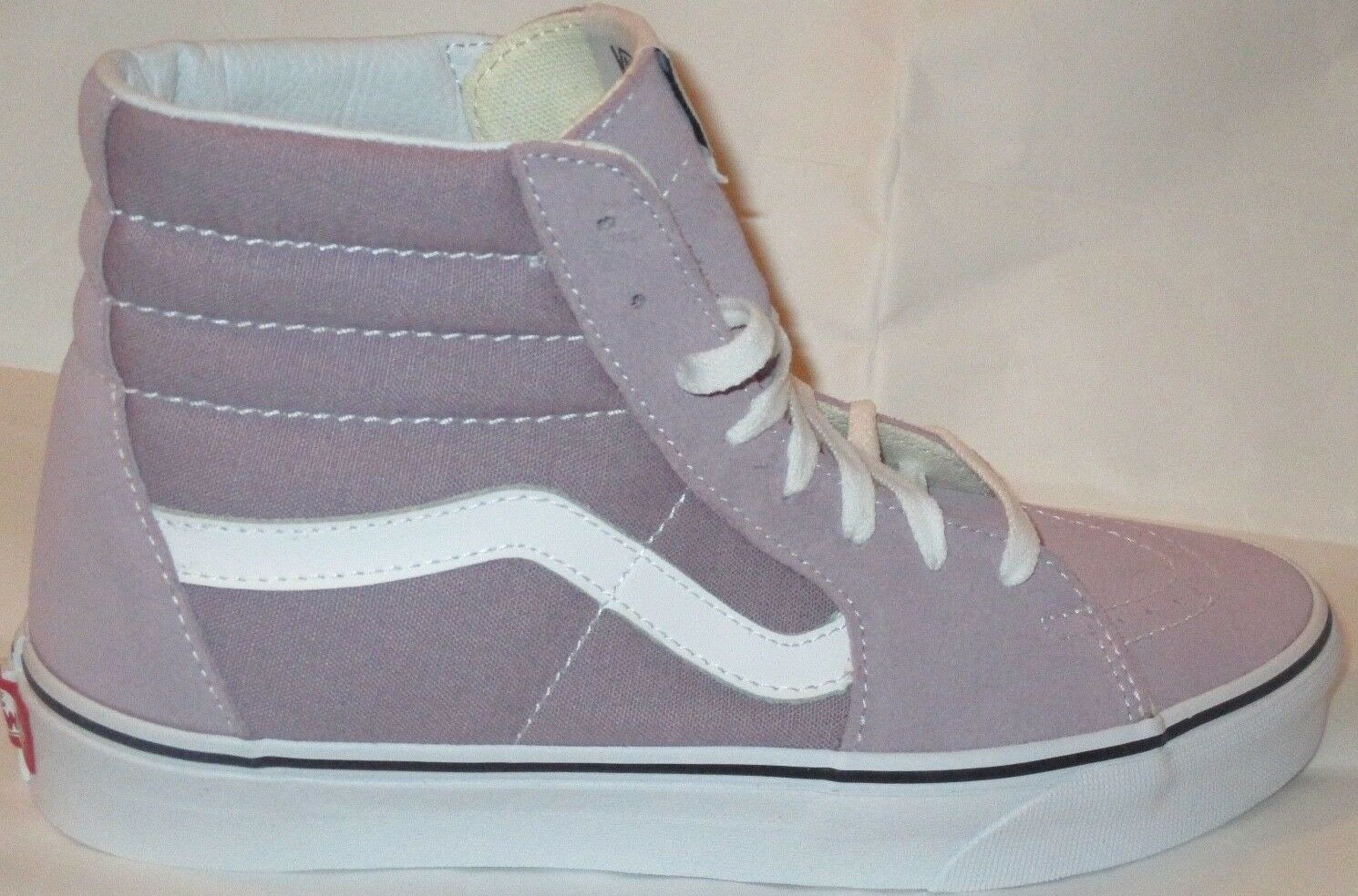 MEN'S VANS SK8-HI SEA FOG TRUE WHITE  VNOA38GEOVS  SHOES SIZE 7.5
