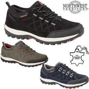 Ladies-Womens-Waterproof-Leather-Walking-Hiking-Memory-Foam-Boots-Trainers-Shoes