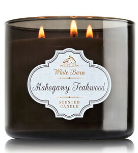 Details About White Barn Mahogany Teakwood Three Wick 14 5 Ounces Scented Candle