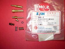 SYM Joyride 150 - RV 150 - Carburettor Nozzle set - New ET: H9B-2