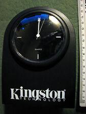 RARE VINTAGE KINGSTON TECHNOLOGY PROMOTIONAL DESK CLOCK BLACK BOXED NEW k107wtrw