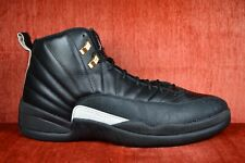 507826c55091 CLEAN Nike Air Jordan XII Retro 12 The Master Black Gold Size 13 130690-013