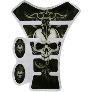 New-COOL-SKULL-Gas-Tank-Pad-Protector-Decal-for-Kawasaki-Yamaha-Honda-Suzuki