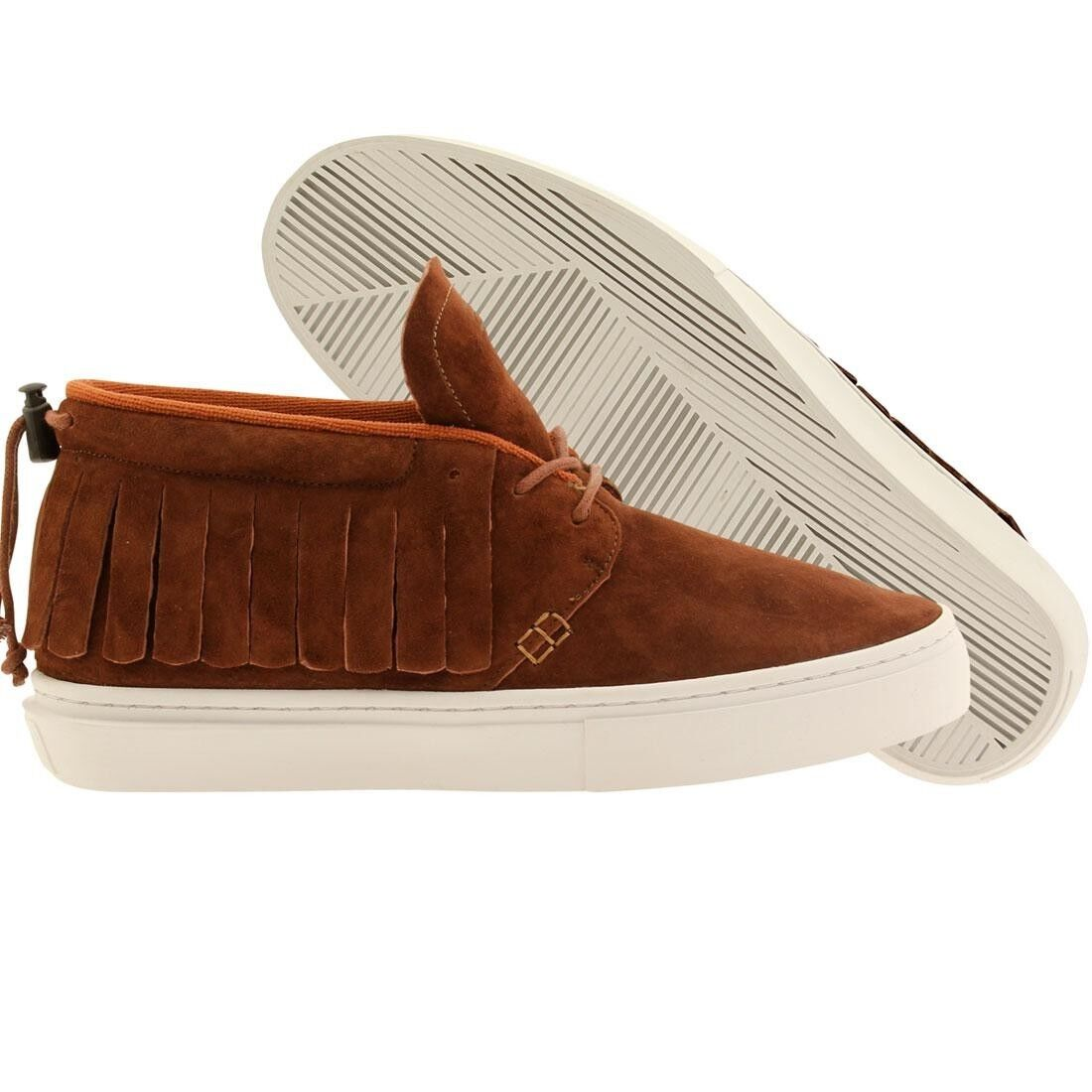 99.99 Clear Weather Men The One-O-One brown henna suede CRW101HEN
