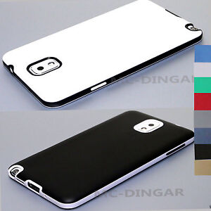 separation shoes 9d2a4 4a29b Details about Luxury Thin Slim silicone Bumper Hard Case Cover For Samsung  Galaxy Note 3 n9005